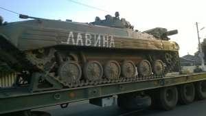 """БМП-2 """"Лавина"""": от Старой Станицы (РФ) до Углегорска."""