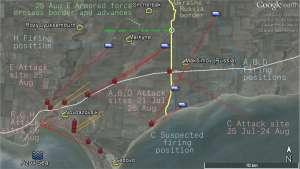 Горящая дорога к Мариуполю: Атаки с территории России в ходе наступления под Новоазовском в августе 2014-го года