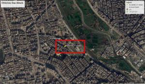 Сообщения об использовании хлора против мирных жителей Алеппо