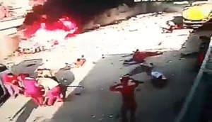 Загадочный взрыв заминированного автомобиля в Ираке