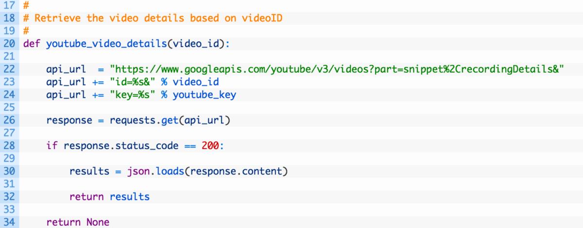 Автоматизированный реверсивный поиск видеороликов с YouTube по заставке