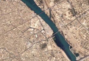 Битва за Мосул. Вид из космоса до начала наступления