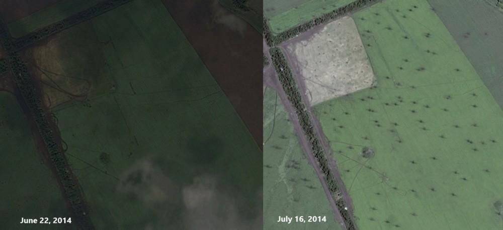 Краткая история украинского конфликта в спутниковых снимках. Часть I
