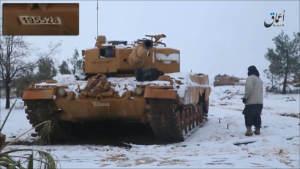 Битва за Эль-Баб: Подтверждая потери сил «Щита Евфрата» в технике