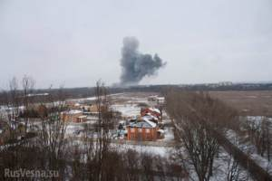 Риски для окружающей среды и еще одна колонна на Донбассе