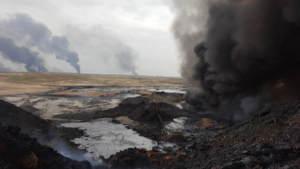 Битва за Мосул:  Промежуточная оценка на основе открытых источников влияния боевых действий на загрязнение окружающей среды
