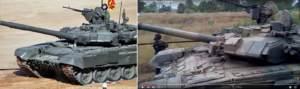 Игра в прятки – танки T-90A на Донбассе