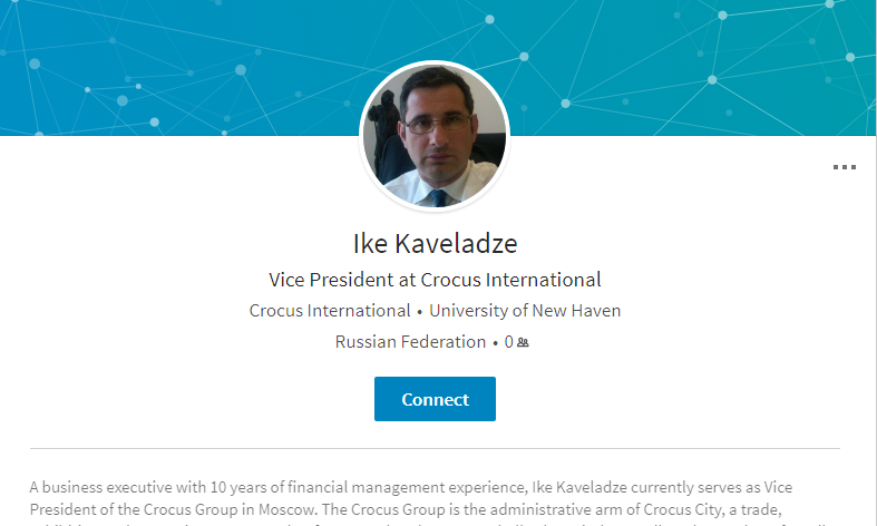 Кто такой Ираклий Кавеладзе, восьмой участник встречи Трампа-младшего с российским адвокатом?