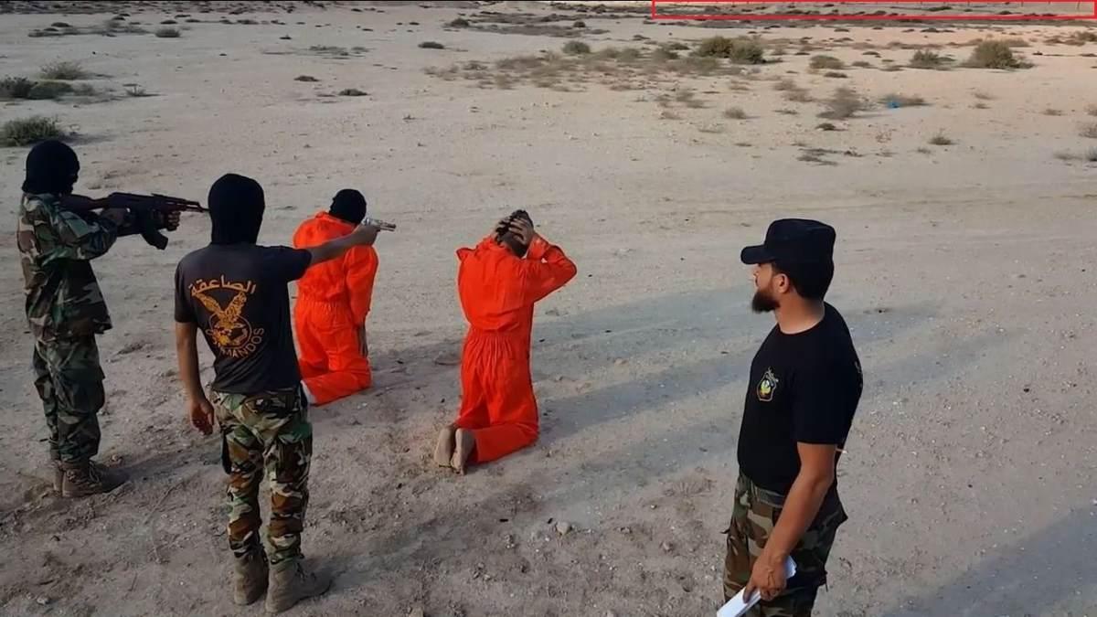 Геолокация ливийского палача из социальных сетей