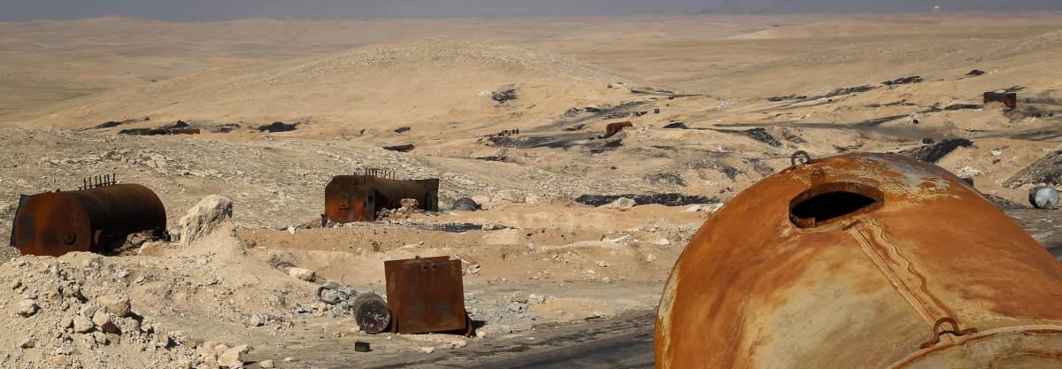 Нефтяникам тут не место Отслеживание объектов нефтяной промышленности ИГИЛ в Ираке