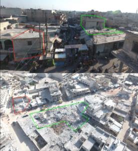 Авиаудар по мирным жителям на рынке в сирийском городе Атареб