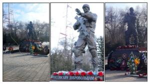 Памятники российским наемникам в Украине и Сирии