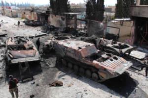 Семь лет войны: документирование потерь техники Сирийской арабской армии