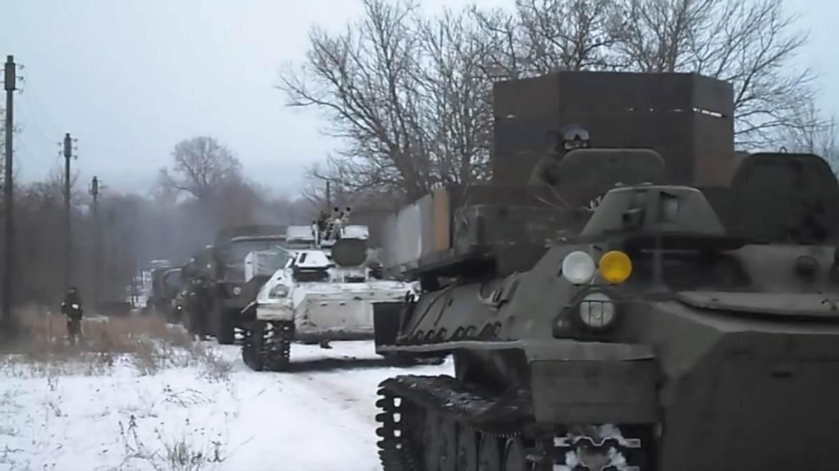 Видео показало роль «ЧВК Вагнера» в боях на востоке Украины