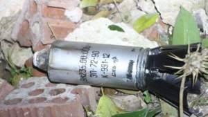 Следы использования кассетных бомб в вооруженных столкновениях в Идлибе