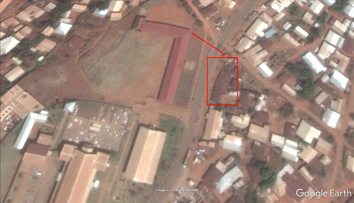 Геолокация разрушений в Камеруне на примере Кумбы и Кумфуту