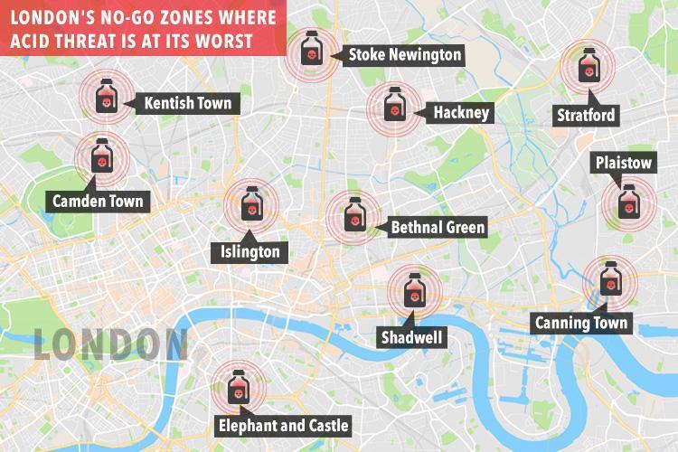 Опровержение карт «закрытых мусульманских зон» в Лондоне