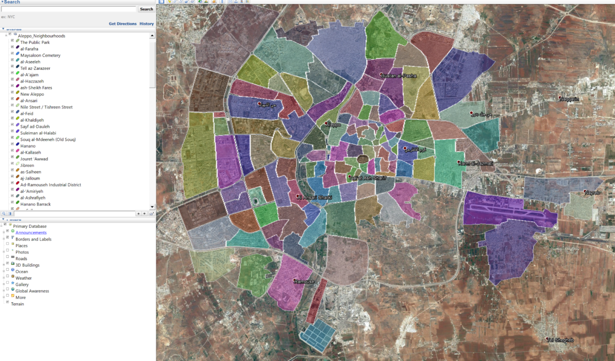 Сбор геопространственных данных веб-скрейпингом