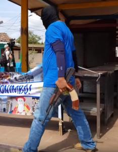 Анализ арсенала военизированных отрядов в Никарагуа