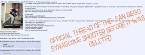 Не цепляйтесь за манифест стрелка из поуэйской синагоги. Доска /pol/ на 8chan намного информативнее