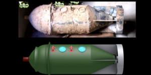 Первые кадры зариновых бомб, применявшихся в Сирии