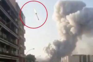 Взрыв в Бейруте: это птица? Это самолет? Это фейковая ракета?