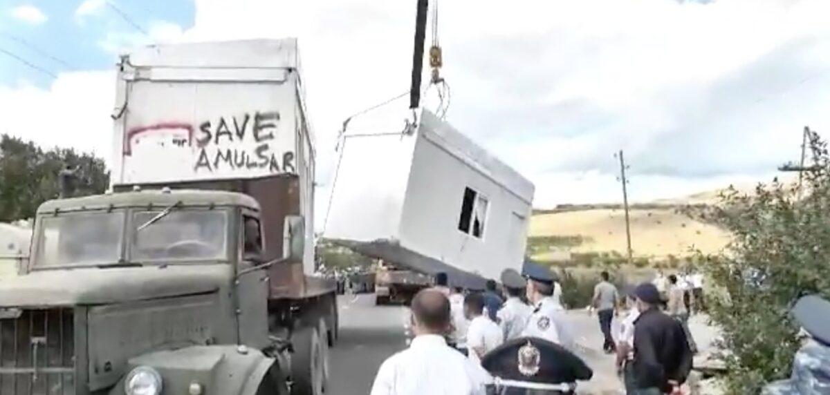 Протесты и напряженность вокруг золотодобывающего проекта Амулсар в Армении