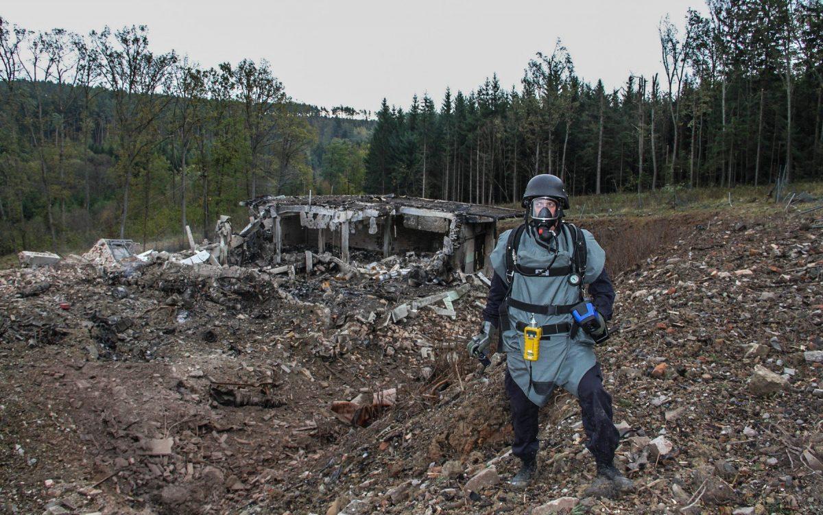 В операции по подрыву склада оружия в Чехии участвовал старший офицер ГРУ